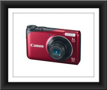Canon PowerShot A2200 14.1 Megapixel 4x Wide-Angle Optical Zoom