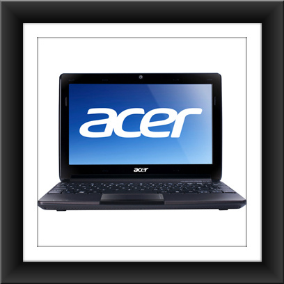 "11.6"" Acer Aspire One AO722-C53kk LED Netbook - AMD C-50 1 GHz"