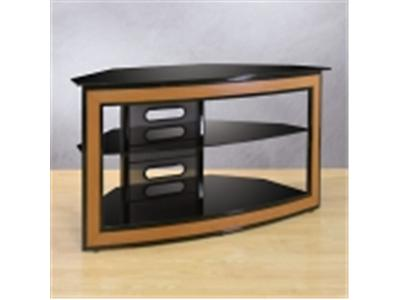 BELL`O AVSC2121 Wood Look Front, Metal & Black Glass, Up To 46""