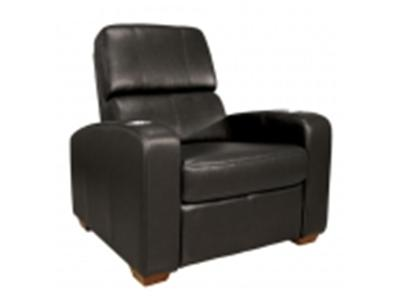 BELL`O HTS100BN Real Leather Double Arm Recliner Chair - brown