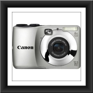 Canon PowerShot A1200 12.1 Megapixel 4x Wide-Angle Optical Zoom