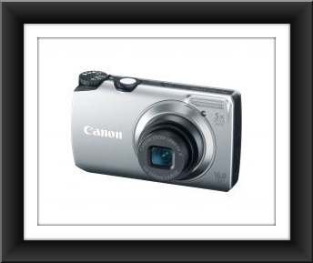 Canon PowerShot A3300 IS 16 Megapixel 5x Wide-Angle Optical Zoom