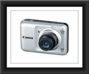 "Canon PowerShot A800 10 Megapixel 3.3x Optical Zoom 2.5"" LCD"