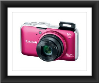 Canon PowerShot SX230HS 12.1 Megapixel 14X Optical Zoom 1080p