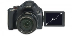 Canon PowerShot SX30 IS 14.1 Megapixel 35x Wide-Angle Optical Zo