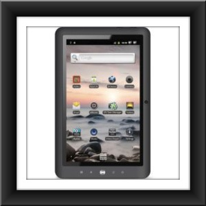 "10.1"" Coby Kyros MID1125-4G 4 GB Tablet Computer - ARM Cortex A8"