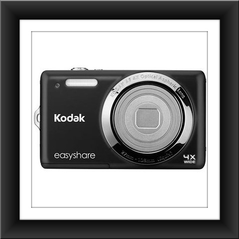 14 MP Kodak EasyShare M522 14.2 Megapixel Compact Camera - Black