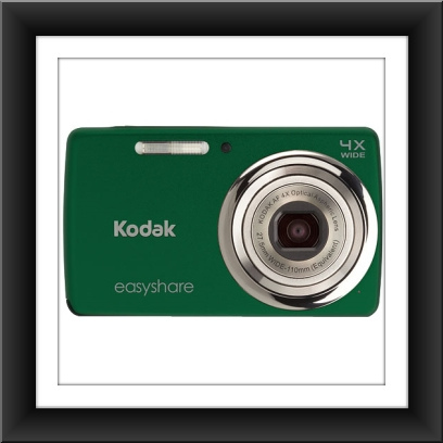 14 MP Kodak EasyShare M532 14 Megapixel Compact Camera - Green