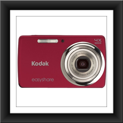 14 MP Kodak EasyShare M532 14 Megapixel Compact Camera - Red