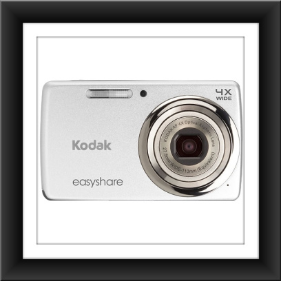 14 MP Kodak EasyShare M532 14 Megapixel Compact Camera - Silver - Click Image to Close