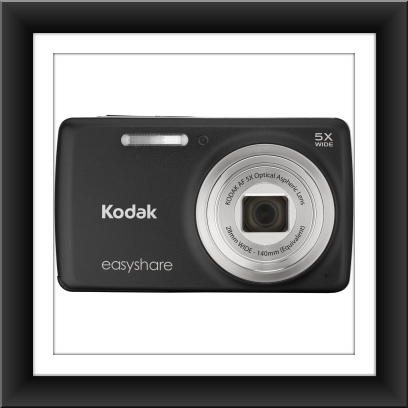 14 MP Kodak EasyShare M552 14 Megapixel Compact Camera - Black